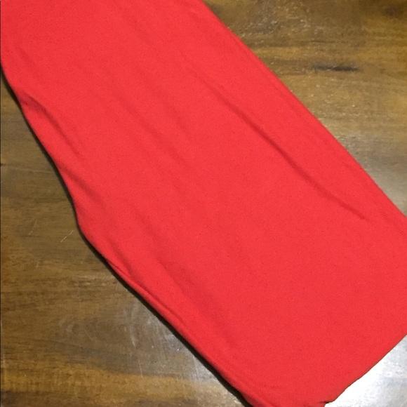 Lularoe Pants Os Leggings Tomato Red Poshmark